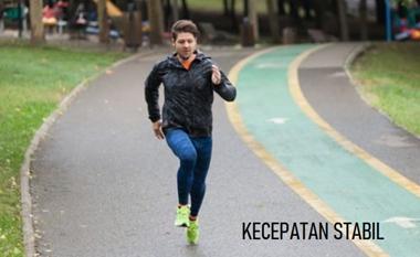 Berlari dengan kecepatan yang stabil