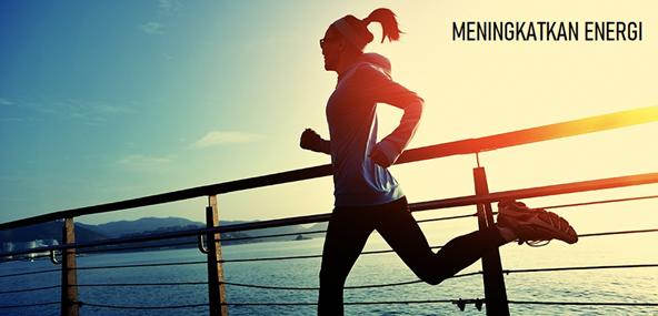 Meningkatkan energi saat olahraga